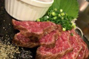 牛肉のタタキのレンチンレシピ